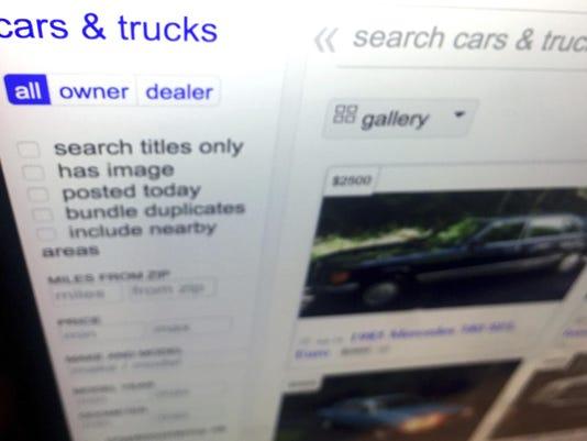 Behind the Wheel Online Car Buying Fraud