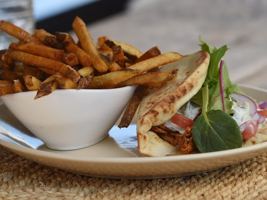 Chicken Doner, one of the entrees available at the 1850 House Inn & Tavern in Rosendale.