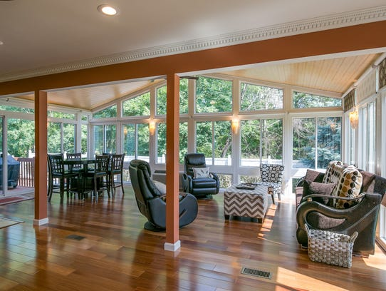 Sunrooms can be complete additions with multiple uses.