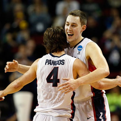 SEATTLE, WA - MARCH 22: Kyle Wiltjer #33 of the Gonzaga
