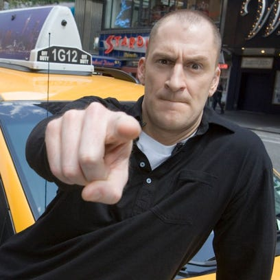 """Ben Bailey serves as the host of """"Cash Cab."""""""