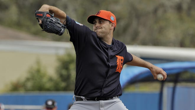 "Matt Boyd had been impressive this spring until allowing four runs (three earned), seven hits and two walks in 31/3 innings Thursday. ""Just had no rhythm out there,"" Boyd said. ""I know what I have to do to make adjustments the next time through."""