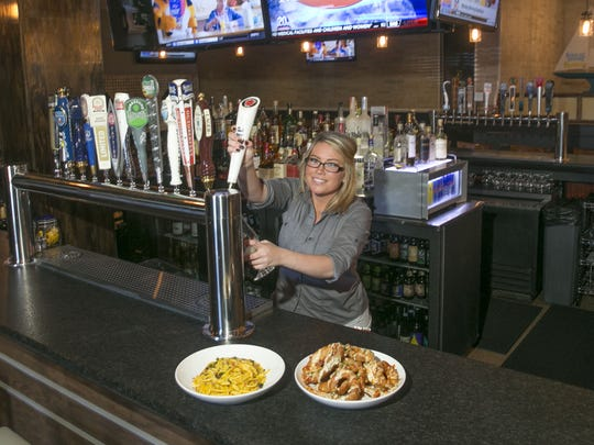 Bartender Nicole Bundschuh, pictured in 2016 at Cornerstone Kitchen and Tap in Jackson.