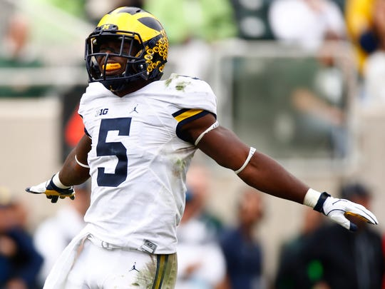 Michigan's versatile Jabrill Peppers leads a gifted defense that will face Iowa on Saturday.