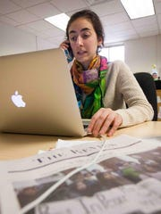 Editor-in-Chief Elizabeth Quartararo works at The Review,