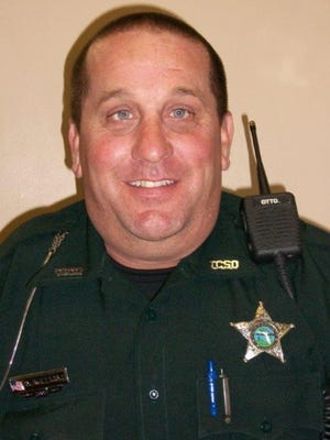 Taylor County Deputy Scott Williams died this morning in a traffic accident.