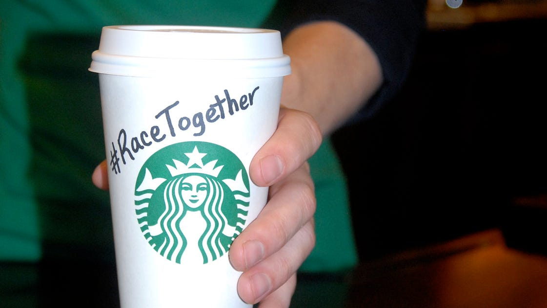 Starbucks Usa Today Team To Tackle Racial Issues