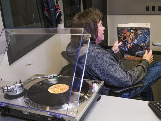 Vinyl on the air