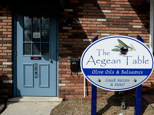 The Aegean Table, a new Greek retail store at 849 Oak Street in Lebanon.