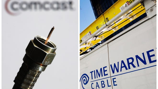 Time Warner Cable and Comcast announced a $45 billion merger in February.