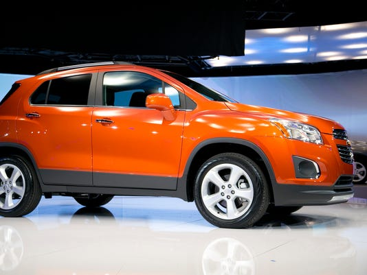 Chevrolet Makes Trax For Small Suv Market