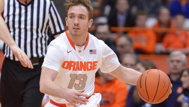 Christian White knew there wouldn't ever be a lot of minutes for him at Syracuse, but he still wanted the experience to be a part of an elite college basketball program.