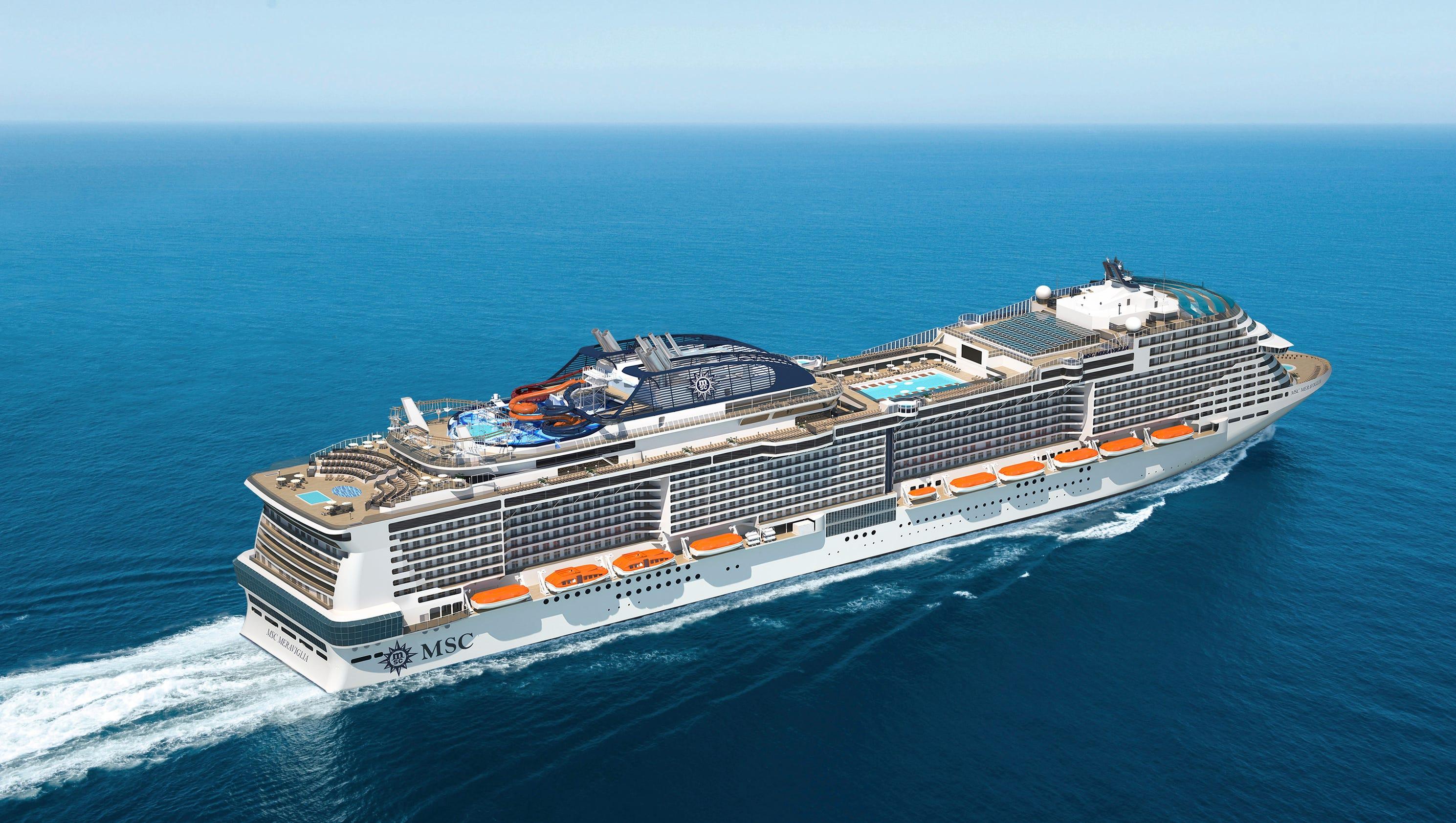 New cruise ships for 2017 msc meraviglia for Msc immagini