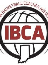 Indiana Basketball Coaches Association logo.