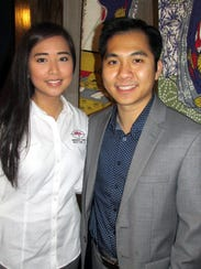 Katherine de Jesus and  Chao Lin were at the soft opening
