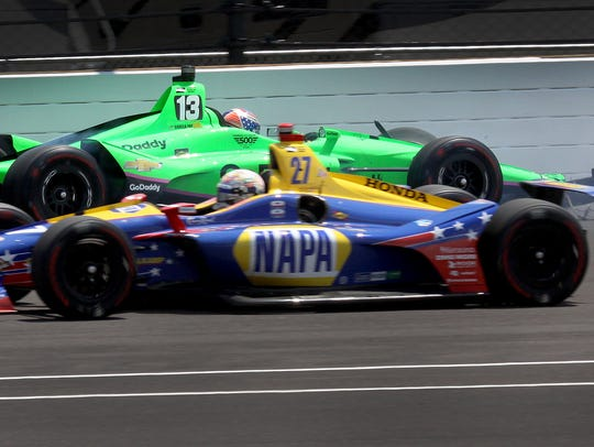 Ed Carpenter Racing IndyCar driver Danica Patrick (13)