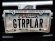 """GTR PLAR"" - on a musician's car in Makoshika State"