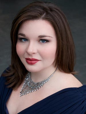 Soprano Kathryn Henry sings during a March 3 benefit concert at UWM.