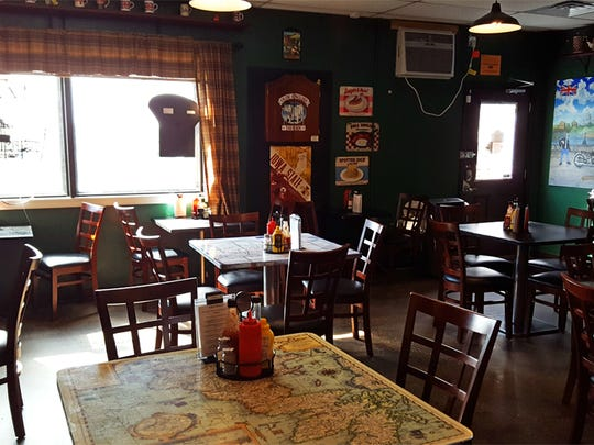 The Mucky Duck in Ames specializes in British fare.