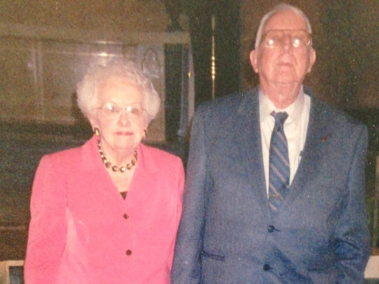 Ellin and Charles Barker have been married for 59 years.