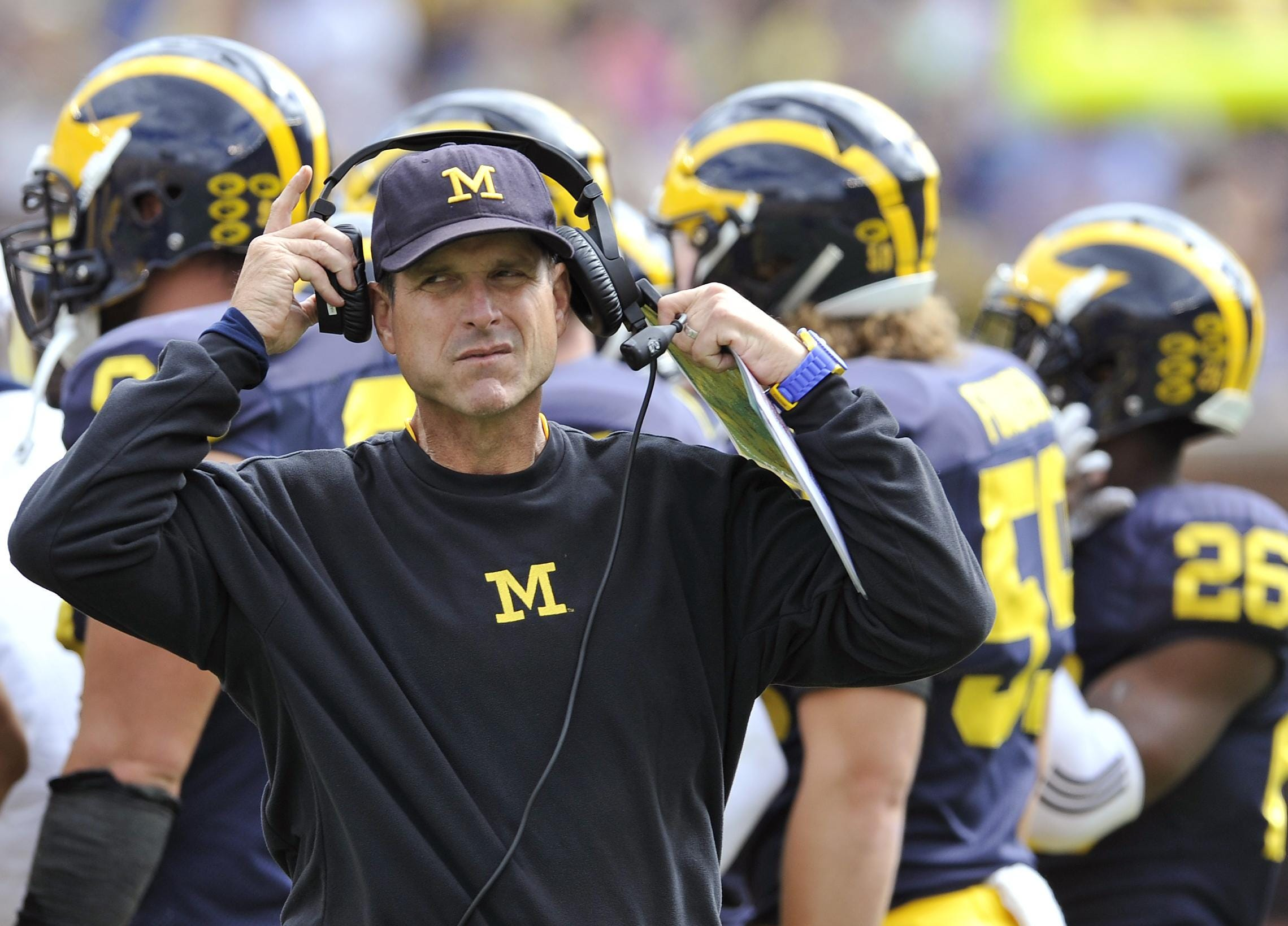 sc 1 st  Detroit News & Harbaugh: Two Halloween costumes better than one