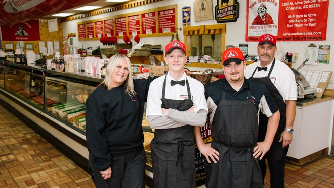 Von Hanson's Meats has been a staple in the Chandler-area for 12 years.