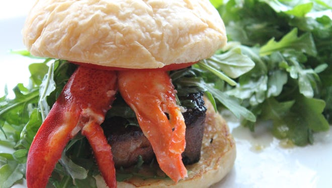 The offerings for Green Bay Restaurant Week change each year, like this  lobster and pork belly BLT from Chefusion in 2015.