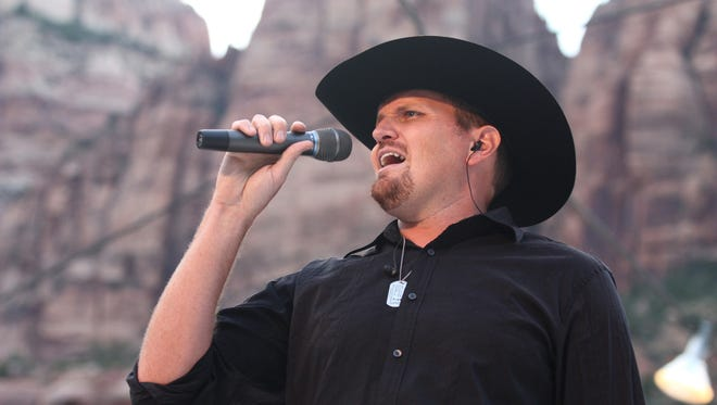 Eric Dodge will perform June 10 for the the Country Jam at Dixie State University's O.C. Tanner Amphitheater in Springdale.