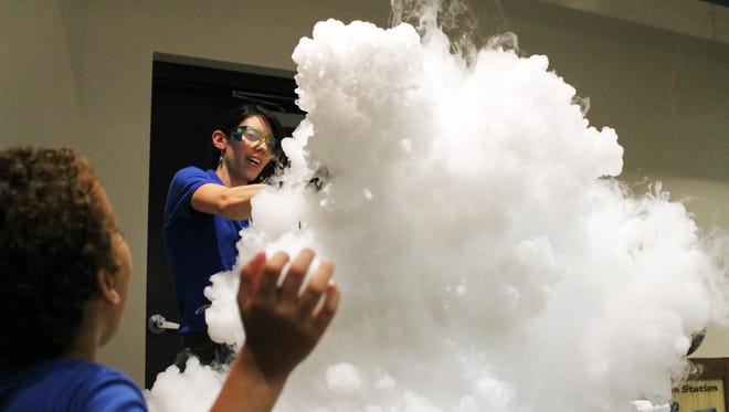 At 1 p.m. Thursdays in July and August at Sciencenter, learn about liquid nitrogen and other cool science.