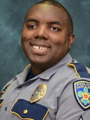 This undated photo released by the Baton Rouge Police Department on July 17, 2016, shows police officer Montrell Jackson who was killed on Sunday.