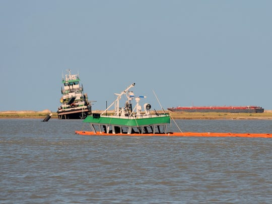 A large tugboat owned by Higman Marine sank in the
