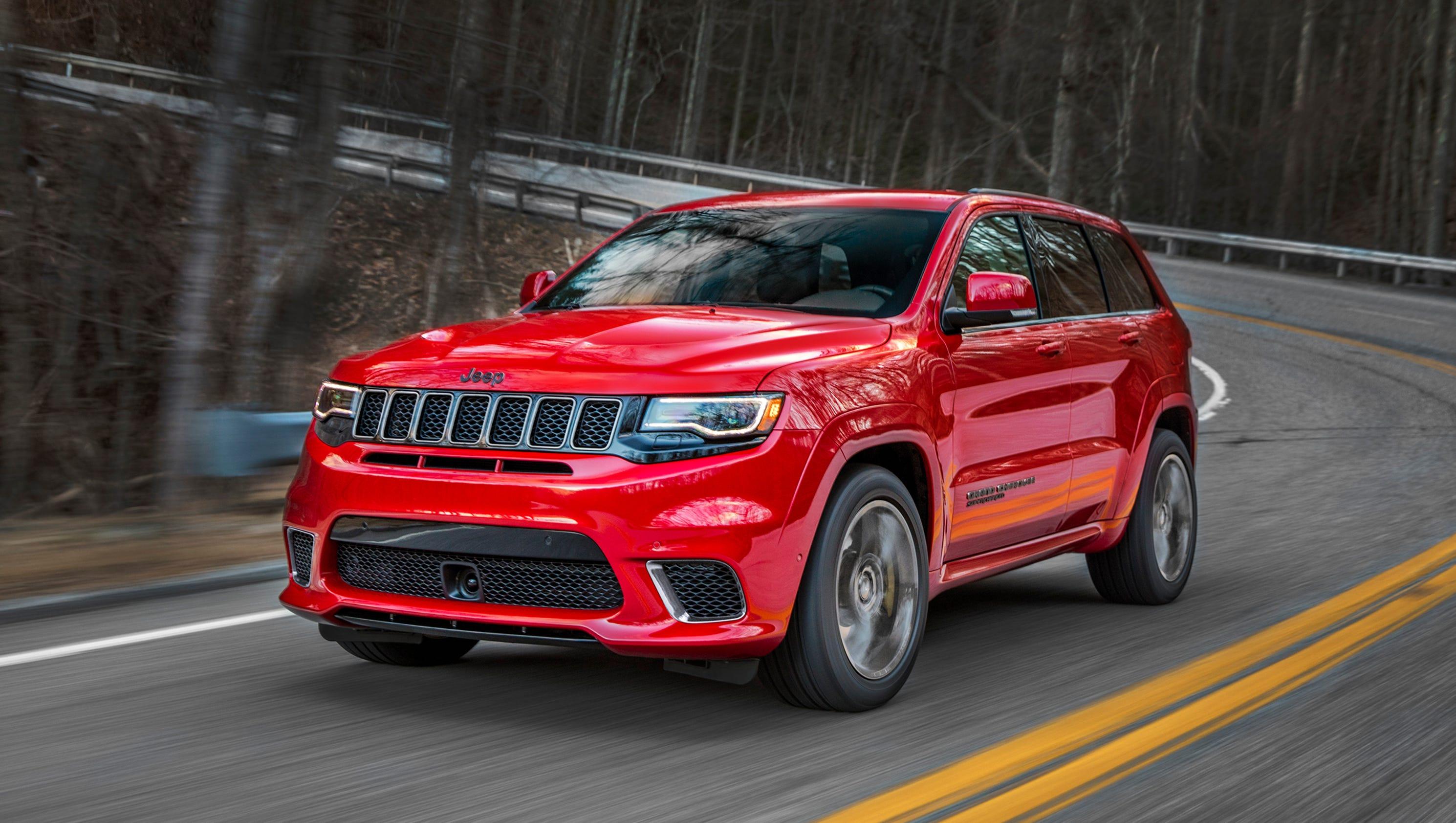 2018 Jeep Grand Cherokee Trackhawk Hellcat >> Jeep drops Hellcat engine into Grand Cherokee Trackhawk