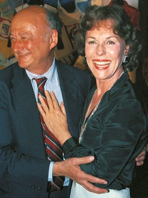 """The popular Bess Myerson helped Ed Koch win the 1977 mayoral race, deflecting rumors of the bachelor candidate's homosexuality — which he neither confirmed nor denied — with her constant presence at his side. """"The immaculate deception,"""" cynics called it after the couple shared an election night victory kiss."""