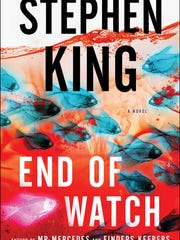 """""""End of Watch"""" by Stephen King."""