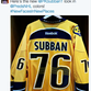 A look at Shea Weber's jersey with the Canadiens.