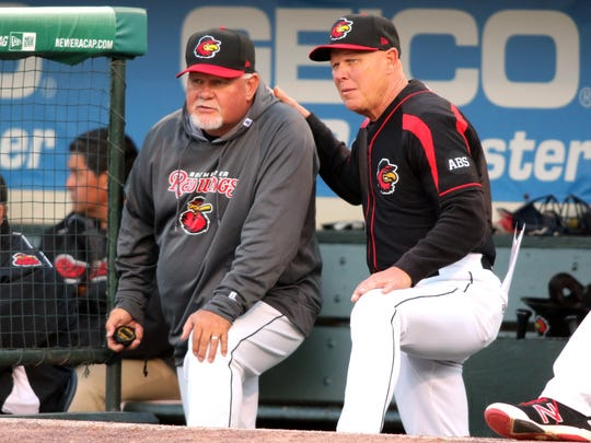 Mike Quade is now in his third season managing the Rochester Red Wings.