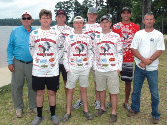 Tioga High School Team 1, the defending state champs,