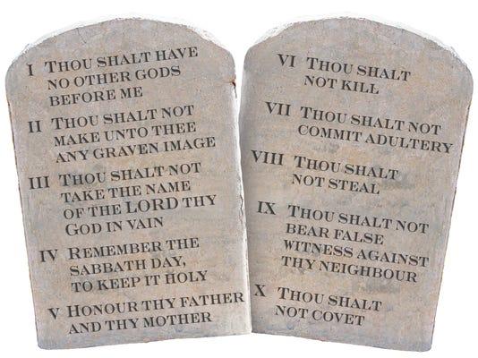 Ten Commandments (KJV)