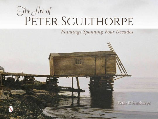 """Peter Sculthorpe will sign his book, """"the Art of Peter Sculthorpe"""" Saturday at Somerville Manning in Greenville."""