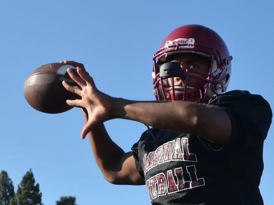 Santa Paula High quarterback Keshaun Mata will lead the West team in the county all-star football game Friday night at Ventura College.