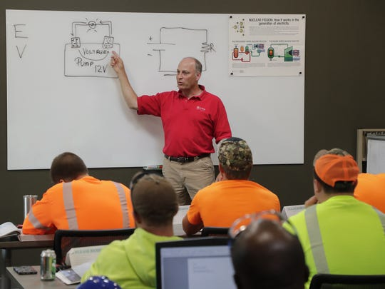 Great Lakes Energy Education Center instructor John