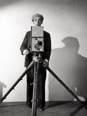 """Buster Keaton stars in the silent-era classic """"The Cameraman,"""" showing as part of the 2018 Beloit International Film Festival."""