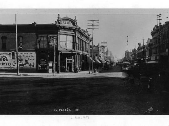El Paso Street, 1897.