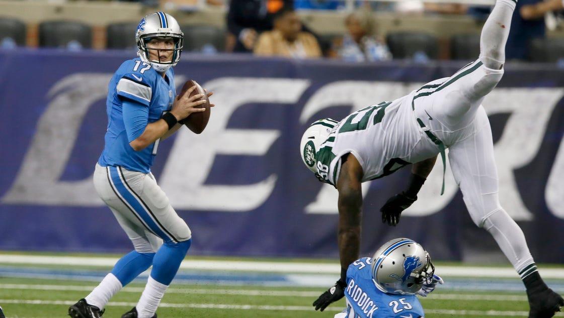 NFL Jerseys Official - Lions' TJ Jones wins 5th WR job; Ross released