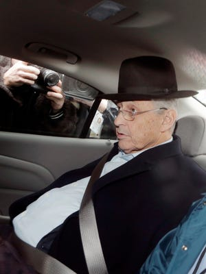New York Assembly Speaker Sheldon Silver is taken by federal agents to federal court Thursday in New York City. Silver, who has been one of the most powerful men in Albany for more than two decades, was arrested on federal corruption charges.
