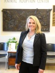 Pam Volk, executive director of the Maclean Animal Adoption Center.