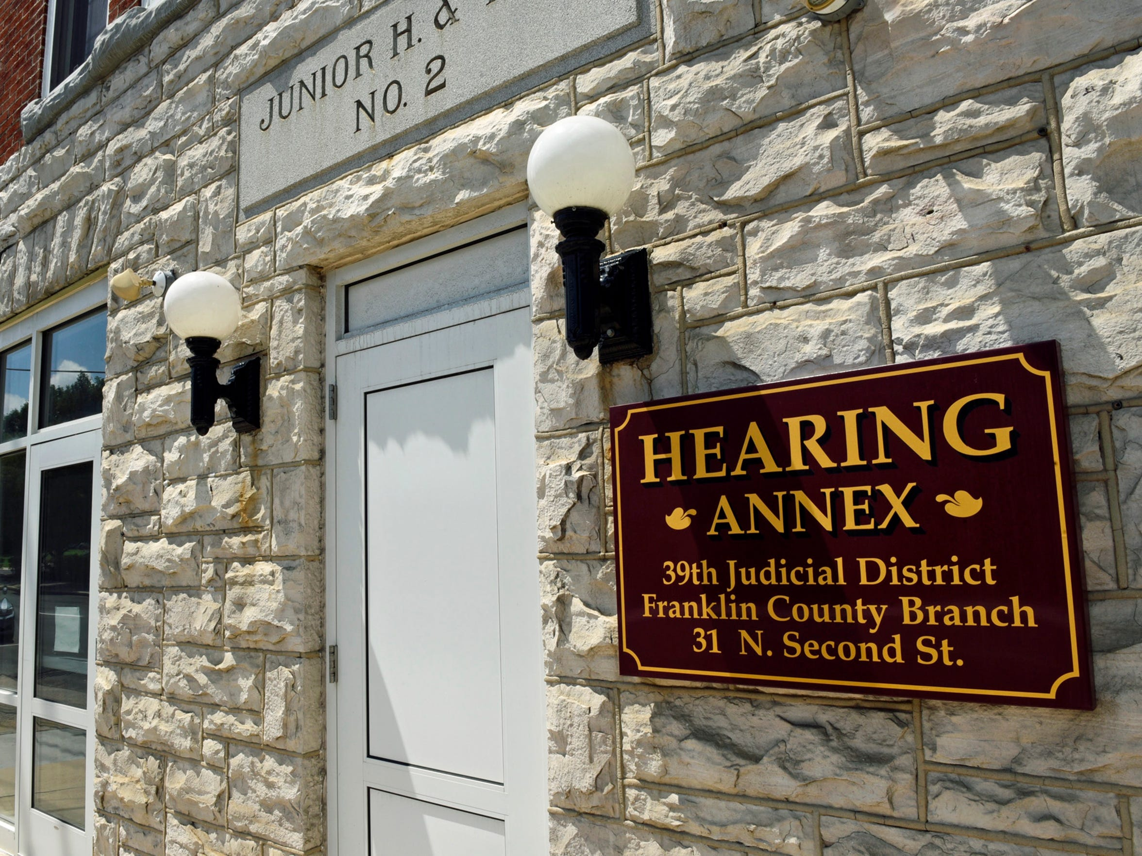 The Hearing Annex, one of the newest buildings in the county court system, is located at 31 N. Second St., Chambersburg. It is where most witness/victim meetings are held and the site of some juvenile court proceedings.