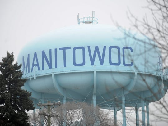 Manitowoc water tower. File/USA TODAY NETWORK-Wisconsin