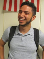Moneer Kheireddine, a student at the University of South Florida in Tampa, said he is leaning toward supporting Hillary Clinton partly because she lies less than Donald Trump.