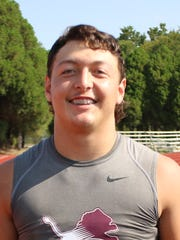 Brownwood linebacker Hunter Mares